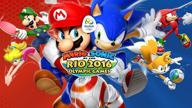 Mario & Sonic at the Rio 2016 Olympic Games Wii U Opening Movie ...